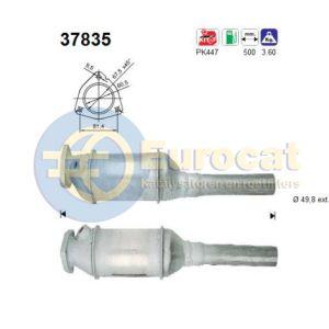 Golf II/III / Passat III / Vento (1.6i/1.8i/1.8i Gti PF/AEK/AFT) katalysator