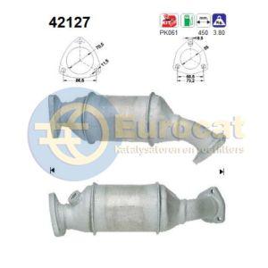 A4 10/95-7/98 / A6 / Passat -12/98 (1.8-20V Turbo AEB) katalysator
