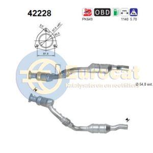 A4 -5/03 / A4 Quattro -5/03 (2.4i) linker katalysator