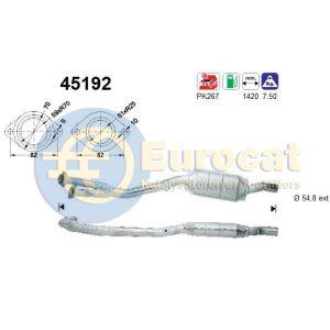 E38 (735i/735iL/740i/740iL) / E39 (535i/540i/540iP) linker katalysator