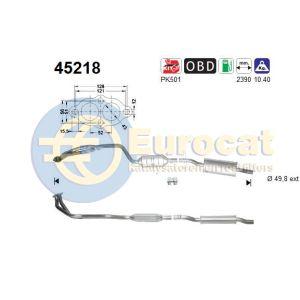 E46 4/98-9/01 (316i/318i) katalysator