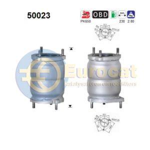 Aveo 8/05- (1.4i) / Kalos 8/05- (1.4i) / Lacetti 8/05-(1.6i-16V) / Tacuma 8/05- (1.6i-16V) katalysat