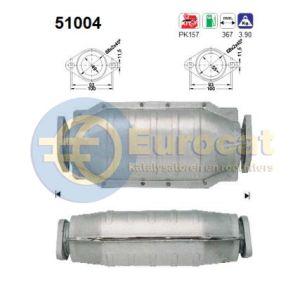 Feroza 9/93- (1.6i-16V) katalysator