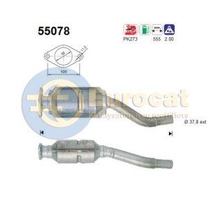 Seicento 5/98- (1.1i) katalysator