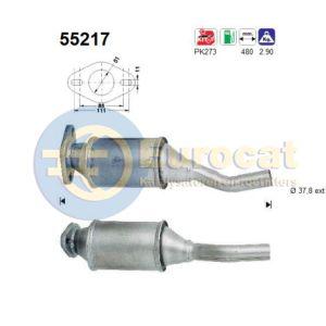 Seicento 5/98- (0.9i) katalysator