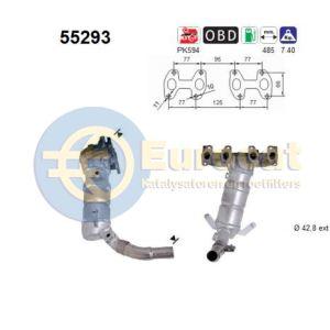 Panda II -4/05 (1.2i-8V) katalysator