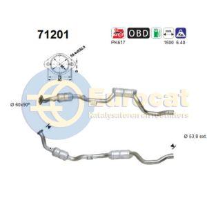 E36 (318iTi/318Si) katalysator