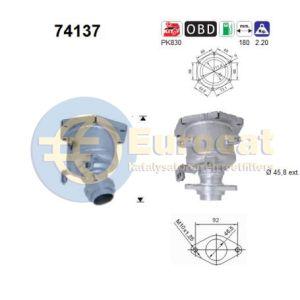 Micra III / Note (1.0i-16V/1.2i-16V/1.4i-16V) 06/03- katalysator