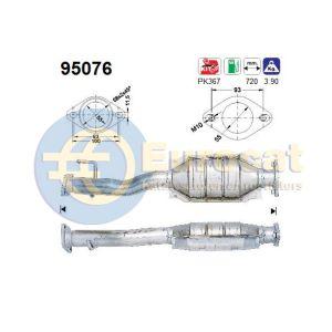 RAV4 8/96-8/98 (2.0i-16V) katalysator