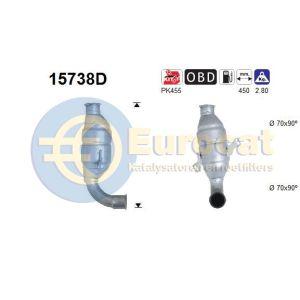 C1 / C2 / C3 / Xsara / 1007 / 107 / 207 (1.4HDi 8V/16V) katalysator