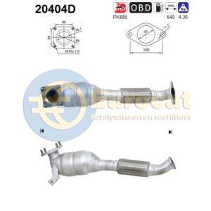 Focus I 05/01-05/04 (1.8TDCi) katalysator