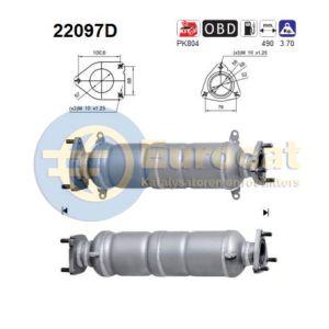 Accord 2/04- / CR-V -1/10 / FR-V -04/10 (2.2CDTi) achterste katalysator