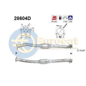 Jumper / Ducato / Boxer (1.9TD XUD9TE) katalysator