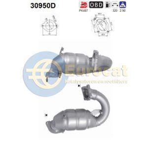 Movano / Master / Interstar 8/00- (2.2DCI/2.5DCi) voorste katalysator