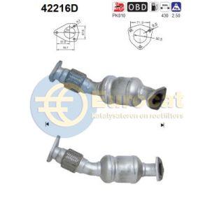 A4 / A6 (1.9TDi) katalysator