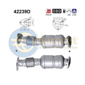 A4 / A6 -9/08 (1.9TDi/2.0TDi) katalysator