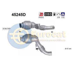 E90 -8/07 (318TD/320TD) katalysator