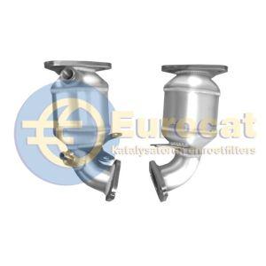 A2 -4/03 / Bora -1/03 / Golf IV 8/01-4/03 (1.6i- 81Kw. BAD) voorste katalysator