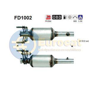 Sprinter (2.1CDi 66Kw/80Kw) 06/06- roetfilter cordieriet