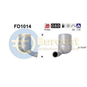 PSA / Mini 03/04- (1.6HDi) roetfilter cordieriet