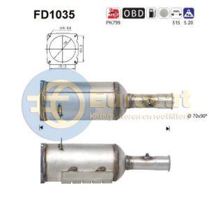 C4 I / 308 (2.0HDi) 07/07- roetfilter cordieriet