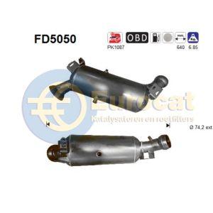 E220CDi (2.2D) 04/06- roetfilter cordieriet