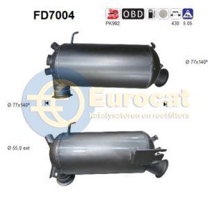 Transporter V / Multivan V  (2.5TDi) 4-motion roetfilter cordieriet