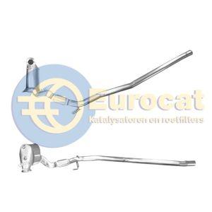 A3 / Altea / Octavia II / Golf V (2.0TDi 4x4) Roetfilter Cordieriet (e4)