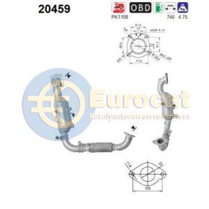 Ford (1.0 Ecoboost) 02/12 katalysator