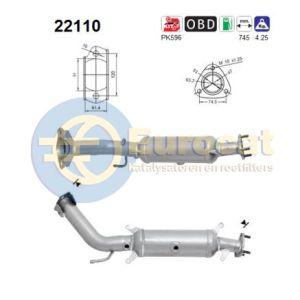 FR-V (2.0) 02/05- katalysator