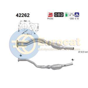 A4 (1.8i) 01/99- katalysator