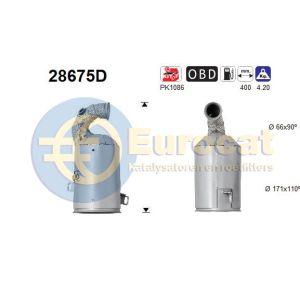 206+ (1.1i) 03/09-10/10 katalysator