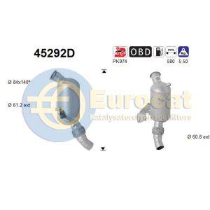 318D / 320D (2.0D) 12/04- katalysator (Automaat) (e4)
