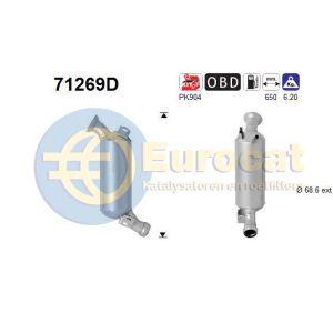 C200 / C220 (2.1CDi) katalysator (Automaat)