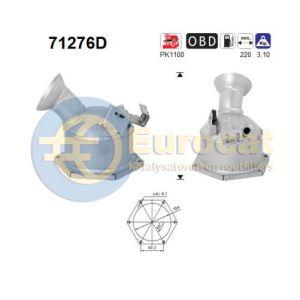 E200 / E220 (2.1CDi) 04/06- katalysator