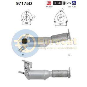 S60 / V70 II (2.4D) 09/05- Katalysator (e4)