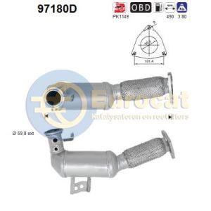 S60 II / S80 II / V60 / V70 III / XC60 / XC70 (2.4D) 08/07- Katalysator (e5)