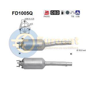 Doblo (1.3JTd) 10/05-01/10 roetfilter silicon (e4)