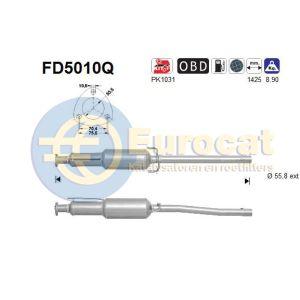 9-5 (1.9TiD) 01/06- roetfilter Silicon (e4)
