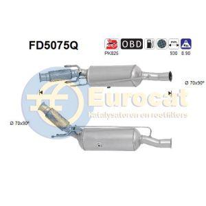 C4 II / C4 Picasso / 5008 (2.0HDi) 06/09- roetfilter silicon (e5)