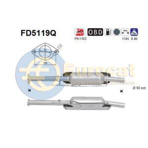 C-Max / Focus III (2.0TDCi) 04/10- roetfilter silicon (e5)