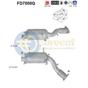 Touareg (2.5TDi R5) 01/03- roetfilter Silicon (e4)