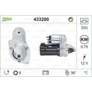 2CV Startmotor Valeo