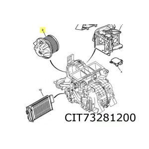 C5 I -11/04 Kachelventilator (+Ac)(Niet Met Klimaatregeling)