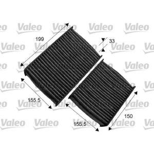 C4 Cactus / C3 II / Ds3 / 207 / 208 Pollenfilterset Carbon