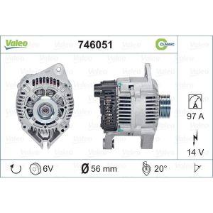 Psa (1.6I/1.8I/2.0I/2.0I Turbo Xu) Dynamo 97Ah