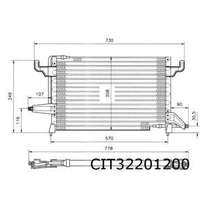XM / 605 -6/94 condensor