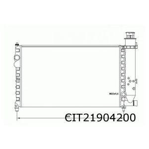 BX (1.6 / 1.9 / 1.9D) radiateur groot