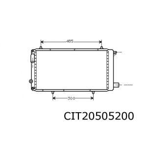C15 3/94- (1.7D/1.9D) Radiateur