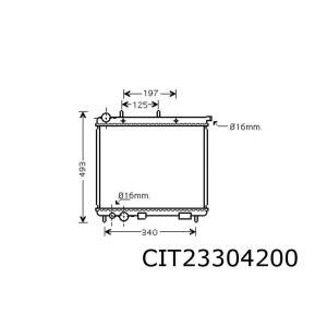 C3 (1.4I / 1.4Hdi))(Automaat) Radiateur